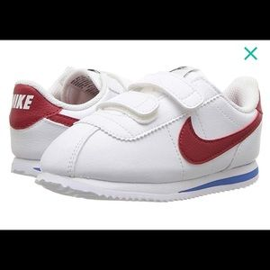 Brand new Nike Cortez - preschool 13.5 white
